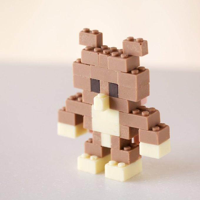 Японский дизайнер сделал LEGO из шоколада . Изображение № 7.