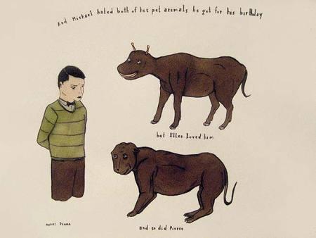 Канадский художник Marcel Dzama. Изображение № 19.
