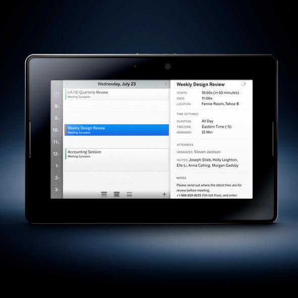 Blackberry PlayBook померится силой с iPad. Изображение № 2.