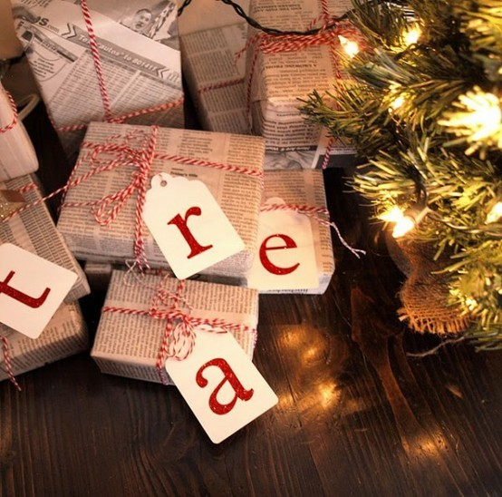 55 идей для упаковки новогодних подарков. Изображение №70.