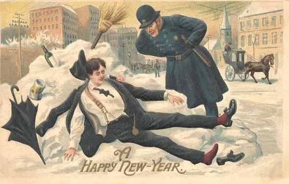 Новогодние открытки 1912 года. Изображение № 5.