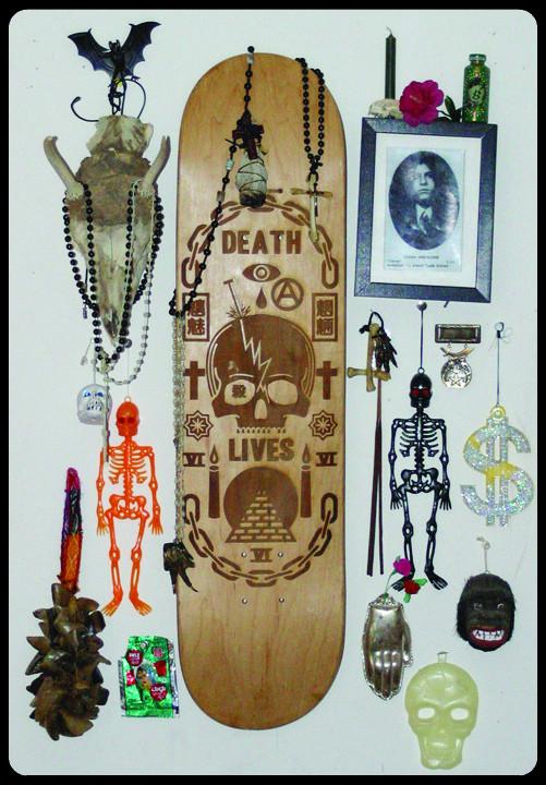 К доске: 10 художников-скейтбордистов. Изображение №77.