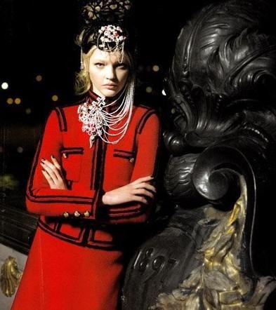 Chanel. Paris-Moscou (pre-fall 2009). Изображение № 1.