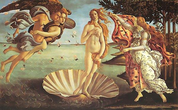 «Рождение Венеры» Боттичелли. Изображение № 2.