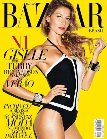Обложки: Harper's Bazaar и LOfficiel. Изображение № 1.
