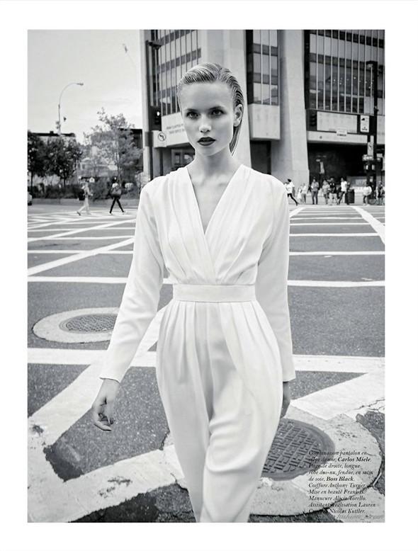Съёмка: Наташа Поли и Терри Ричардсон для французского Vogue. Изображение № 9.
