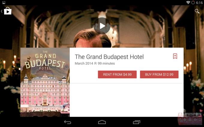 Возможный редизайн интерфейса Google Play для планшетов. Изображение № 8.