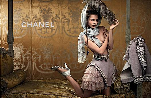 Нет хлеба? Пусть едят пирожные! Реклама круизной коллекции Chanel. Изображение № 2.