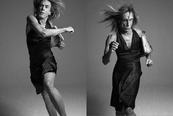 Изображение 4. Игги Поп и сумочка Dior.. Изображение № 4.