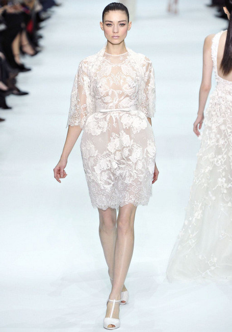 Elie Saab Spring 2012 Couture. Изображение № 1.