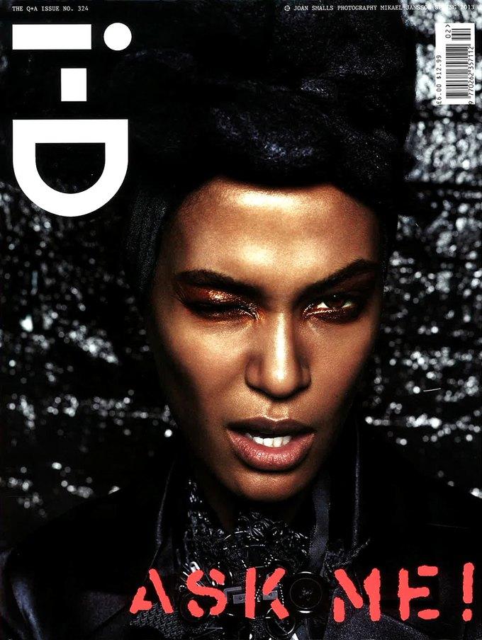 Показаны новые обложки i-D, Numéro и Vogue. Изображение № 2.