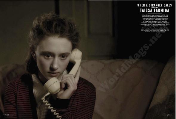 Съёмка: Актрисы из «Хора» и «Американской Истории Ужасов» для Elle. Изображение № 7.