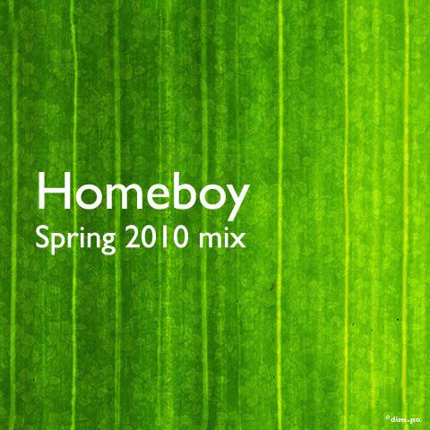 Homeboy - Spring 2010 mix. Изображение № 1.