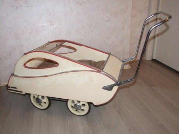 Ретро – kinderwagen, stroller илидетская коляска. Изображение №4.
