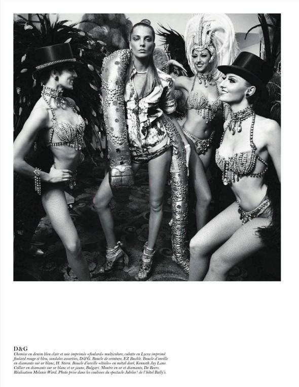 Съёмка: Дарья Вербова для французского Vogue. Изображение № 11.