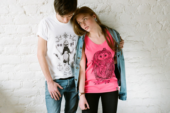 Лукбук авторских футболок от Art-T-Shok WEBSHOP. Изображение № 10.