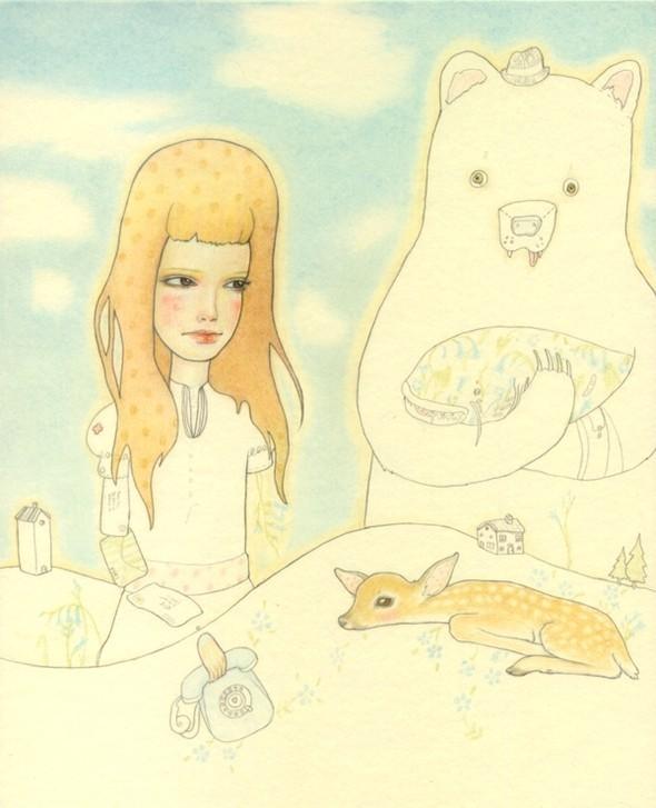 Детский иллюстратор Lilly Piri, любительница конвертов. Изображение № 13.