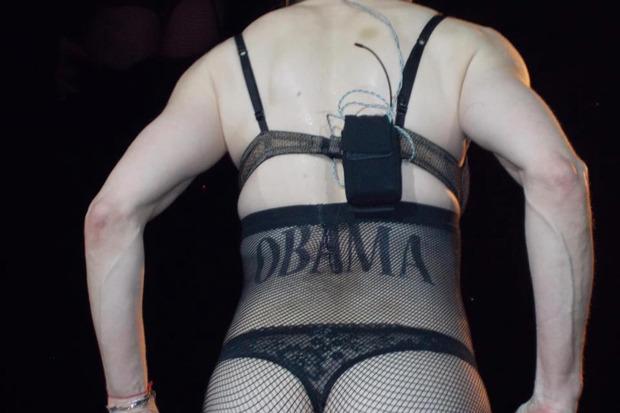 Выборы-выборы: Мадонну зашикали за агитацию на концерте. Изображение № 3.