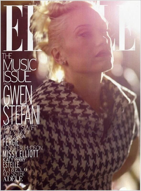 Gwen Stefani, ELLE USJuly 2009. Изображение № 2.