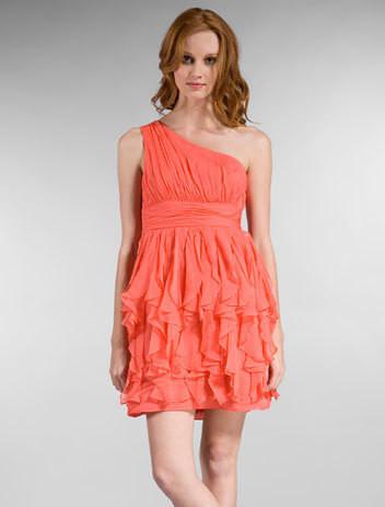 Изображение 5. Коралловое платье.. Изображение № 2.