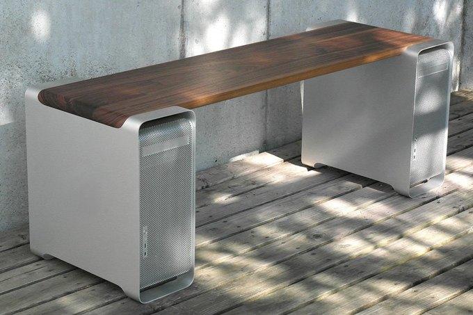 Дизайнер создал мебель изкомпьютера Apple. Изображение № 3.