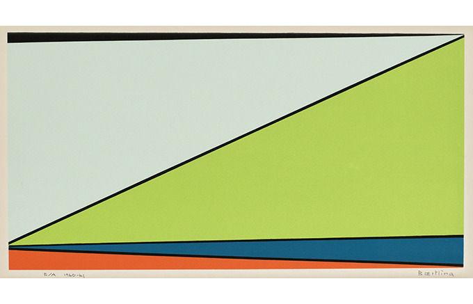 Olle Baertling, Deni, 1961. Изображение № 33.
