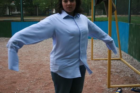 Модное лето: рубашки-oversize. Изображение № 8.