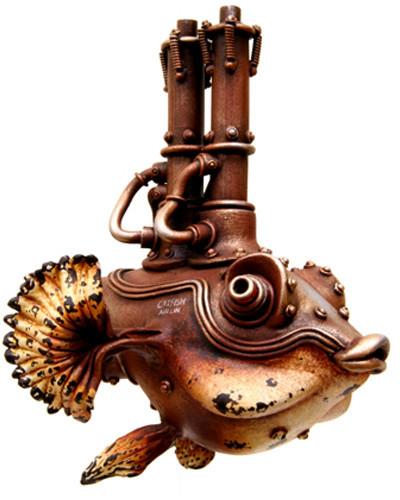 Фантастические скульптуры животных Мишихиро Матсуока. Изображение № 3.