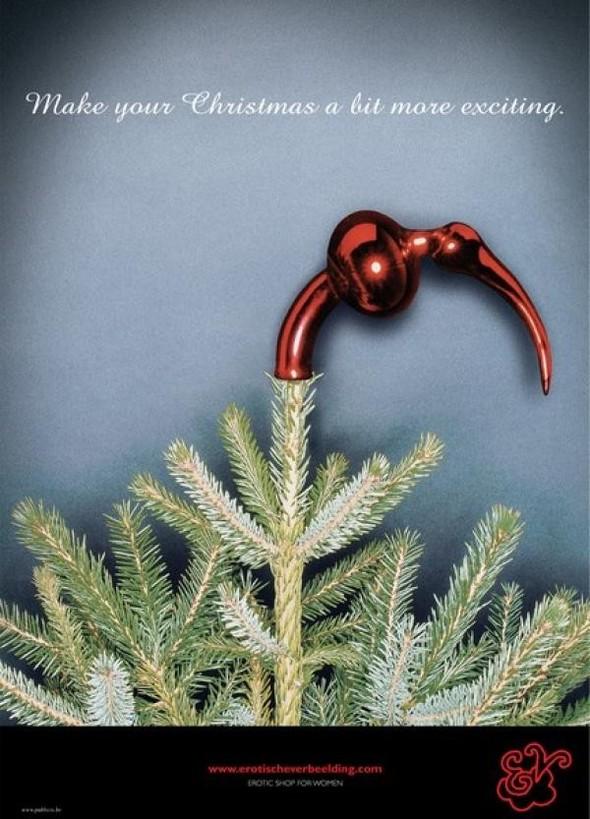 69 рождественских рекламных плакатов. Изображение № 31.
