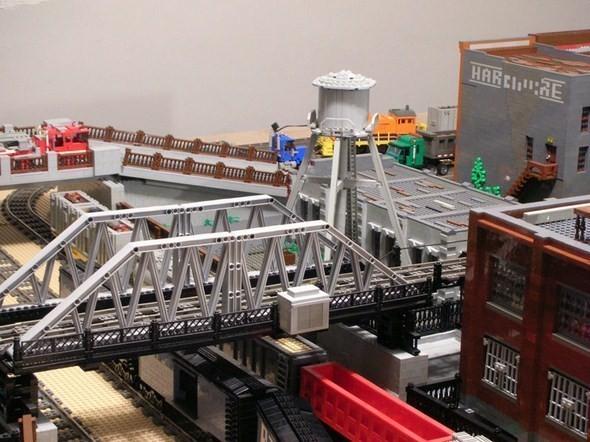 Изображение 4. Улицы Нью-Йорка из конструктора LEGO.. Изображение № 4.