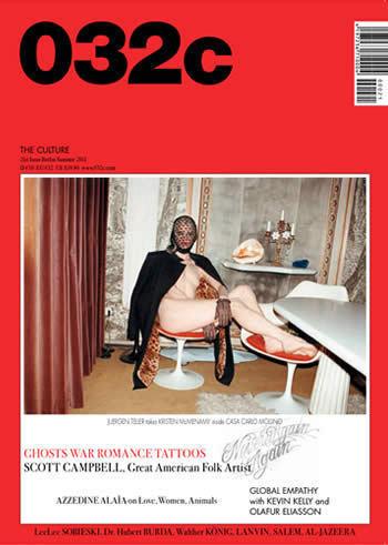 Изображение 3. Обложки: 032c, Dazed & Confused, L'Officiel и другие.. Изображение № 1.