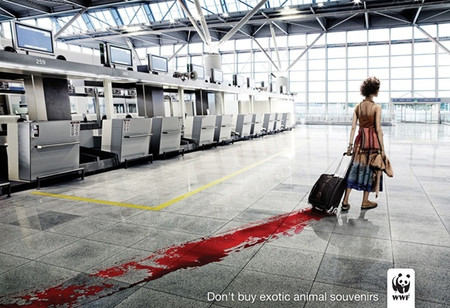 Социальная рекламная кампания фонда дикой природы WWF. Изображение № 1.