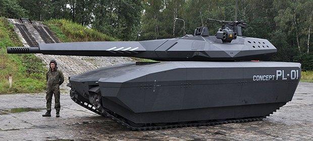 Танк PL-01. Изображение № 1.
