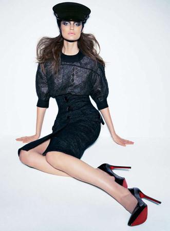 Съёмка в австралийском Vogue, сентябрь 2011. Изображение № 88.