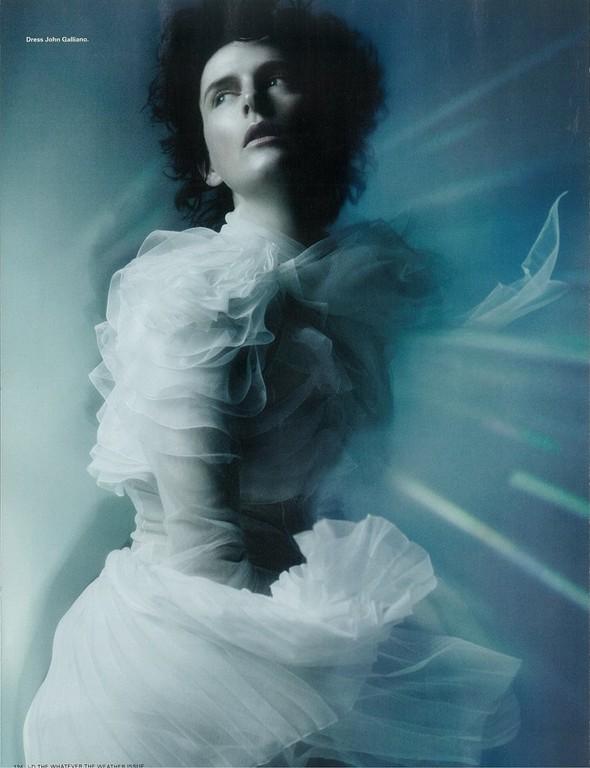 Съёмка: Стелла Теннант для i-D. Изображение № 5.