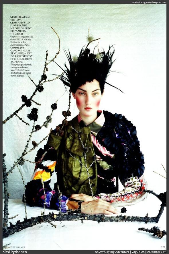 Съёмка: Тим Уокер для британского Vogue. Изображение № 12.