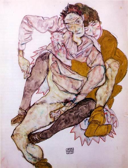 Эгон Шиле. Эротика вискусстве живописи ирисунка. Изображение № 19.