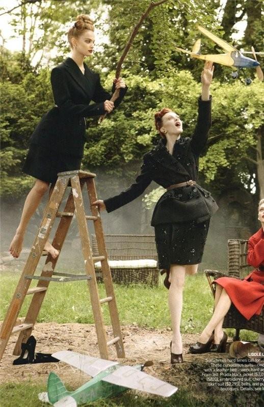 InThe Mood. Vogue US September 2009. Изображение № 11.