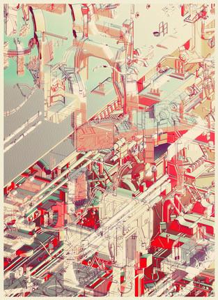 Найдено за неделю: Интерьеры Роя Лихтенштейна, неон-арт и граффити с гейшами. Изображение № 20.