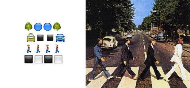 Музыкант воссоздал обложки классических альбомов из Emoji. Изображение № 9.