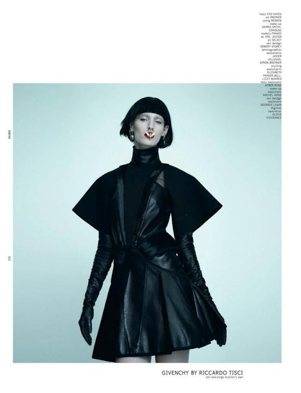 Новые съемки Dazed & Confused, Vogue, Pop и Madame Figaro. Изображение № 20.