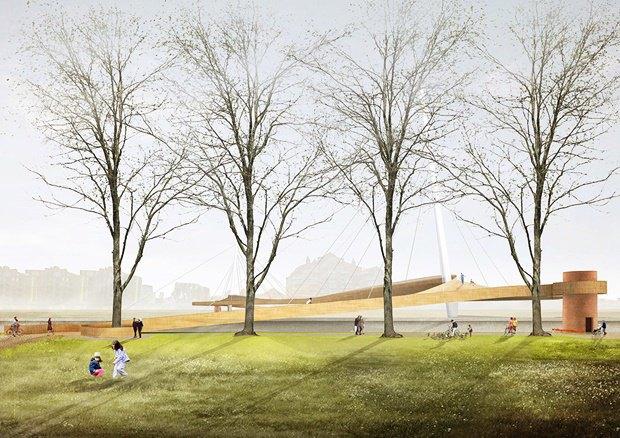 Выложены 74 проекта нового моста через Темзу. Изображение № 58.