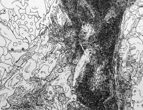 Мона Лиза из котиков или искусство по-японски. Изображение № 8.