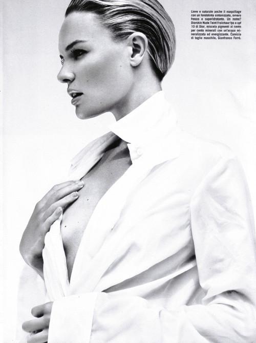 Кейт Босворт для Vogue Beauty Italia. Изображение № 4.