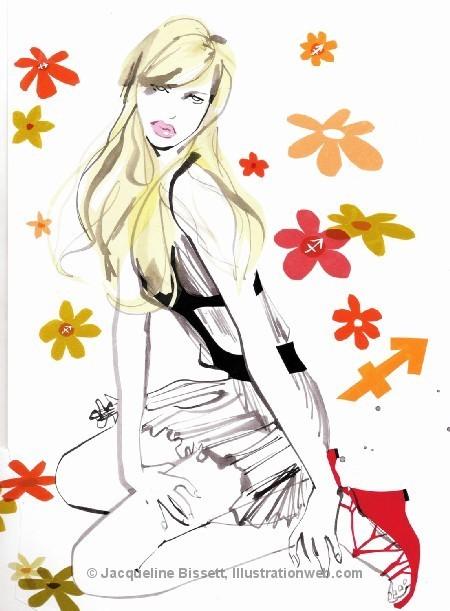 Иллюстратор Жаклин Биссет. Изображение № 20.