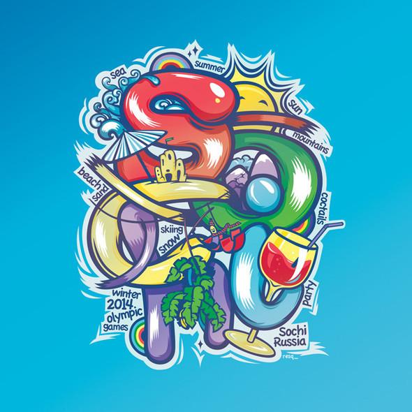 DIY-лого своего города. Изображение № 2.