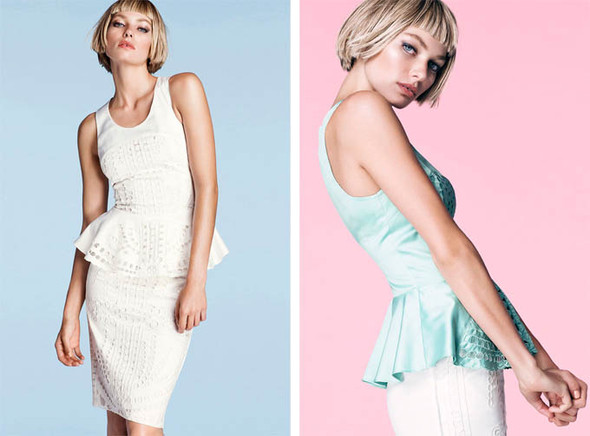 Джессика Харт в рекламе H&M. Изображение № 8.