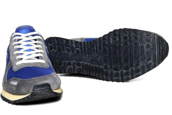 Nike Air Vortex VNTG – Varsity Royal – Metallic Silver. Изображение № 4.