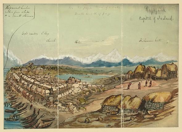 Исландия в середине XIX века: путевые рисунки американского дипломата. Изображение № 5.