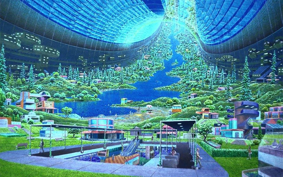 Рай не на земле: Какими в NASA представляли космические колонии будущего. Изображение № 6.